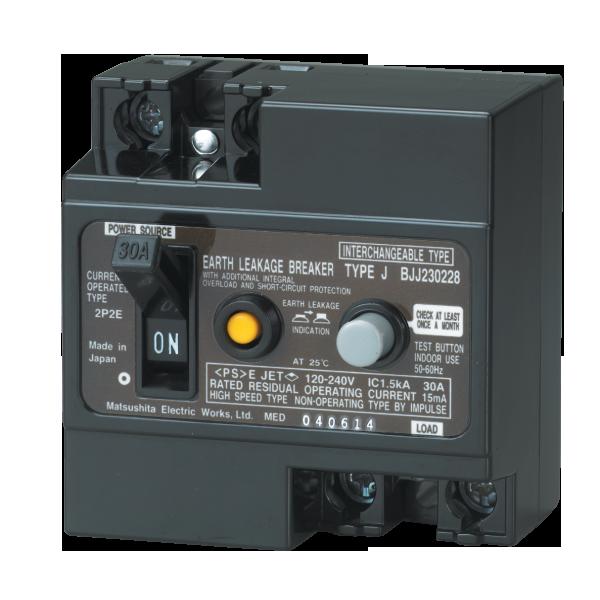 Attomat chống giật 30A Panasonic BJJ23032-8