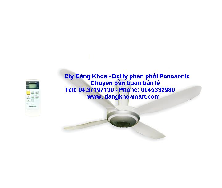 Quạt trần 4 cánh đèn led Panasonic F-56PZM