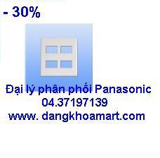 Mặt cho 4 thiết bị Panasonic WEG6804SW