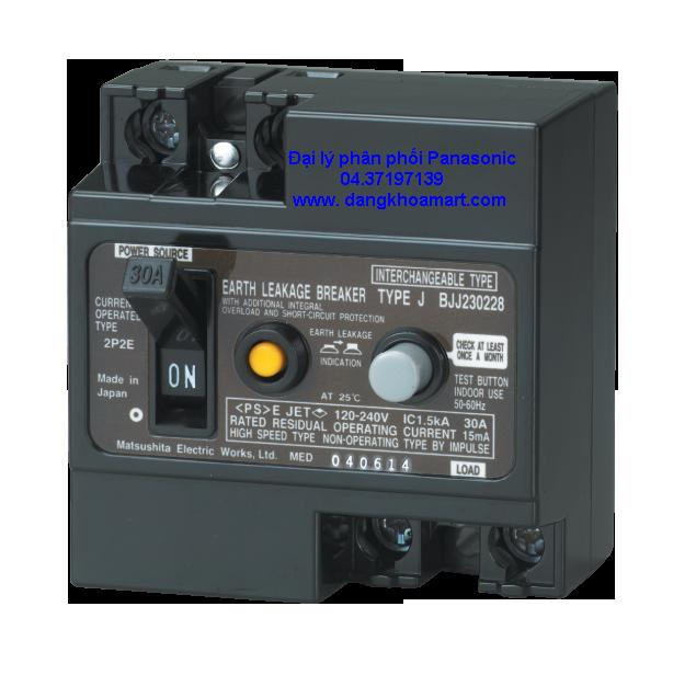 Attomat chống giật Panasonic BJJ23022-8