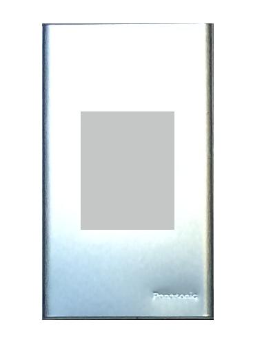 Mặt dùng ổ đơn 3 chấu kim loại nhôm Panasonic WEG650290-1