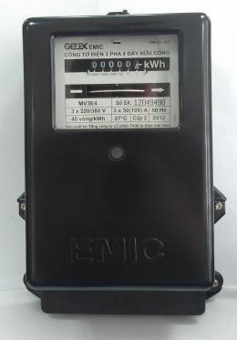 Công tơ 3 pha EMIC 3 x 30(60)A