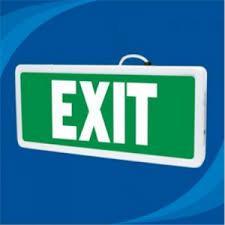 Đèn Thoát Hiểm Exit Paragon PEXA18SC