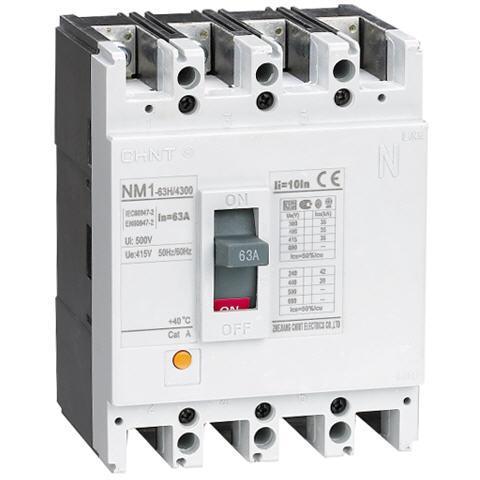 Attomat NM8-630H-4P 100kA/400-500A