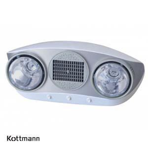 Đèn sưởi nhà tắm Kottmann - Hans K2B-HW-S