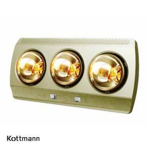 Đèn sưởi Hans 3 bóng Kottmann K3B-G
