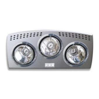 Đèn sưởi nhà tắm Hans Heizen 3 bóng HE-3B176