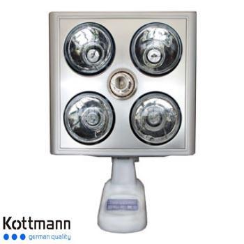 Đèn sưởi Hans Kottmann 4 bóng treo tường K4B-S