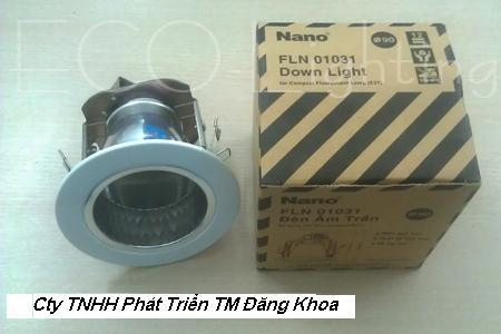 Đèn downlight bóng lắp đứng Nano phi 90 FLP01031