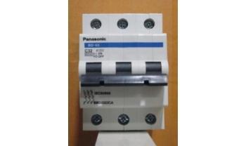 Attomat 3 pha 3 cực MCB Panasonic BBD50A - 63A
