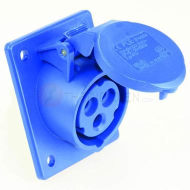 Ổ cắm gắn âm nghiêng không kín nước(IP44) F423-6