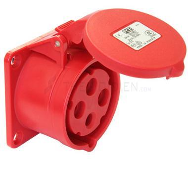 Ổ cắm gắn âm không kín nước dạng thẳng(IP44) F324-6
