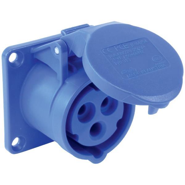 Ổ cắm gắn âm không kín nước dạng thẳng(IP44) F323-6