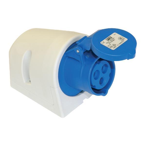 Ổ cắm gắn nổi không kín nước (IP44) F113-6