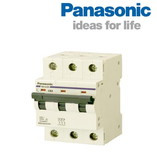 Cầu dao 3 pha MCB 50A Panasonic BBD3503CNV