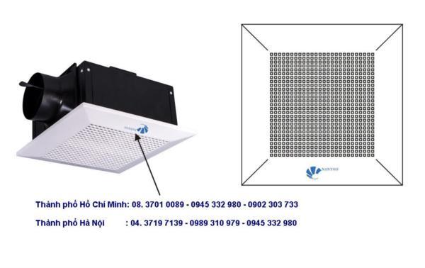 Quạt thông gió âm trần nối ống Nanyoo BPT10-15