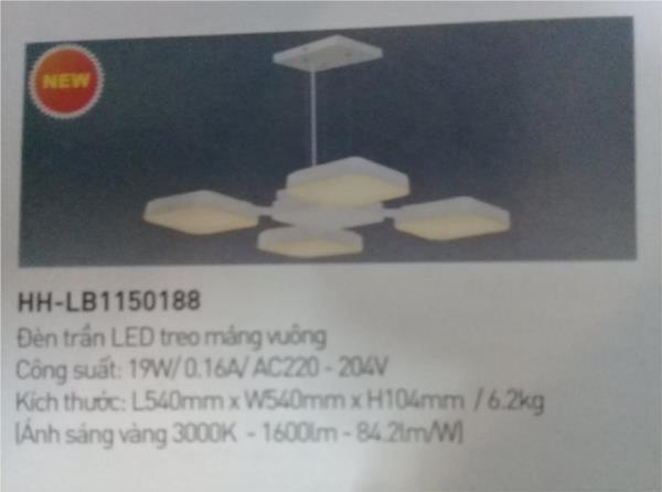 Đèn treo bàn ăn Panasonic HH-LB1150188