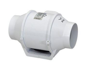 Quạt thông gió âm trần Gemtec nối ống KH-150P