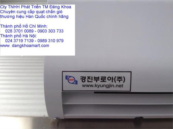 Quạt chắn gió Kyungjin Hàn quốc KR1200