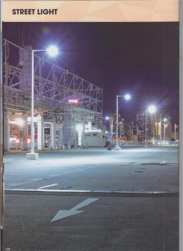 Street light chiếu sáng nhà xưởng