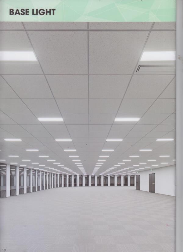 Base light chiếu sáng nhà xưởng panasonic