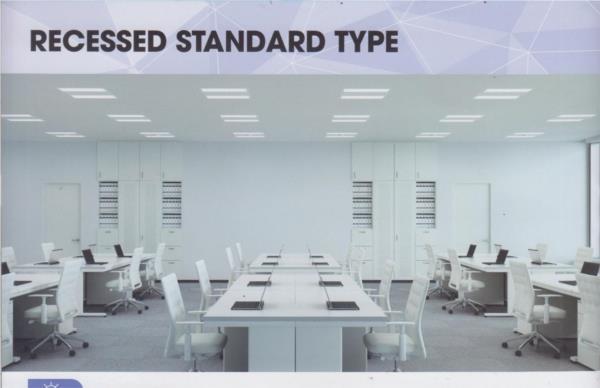 Recessed standard chiếu sáng  nhà xưởng panasonic