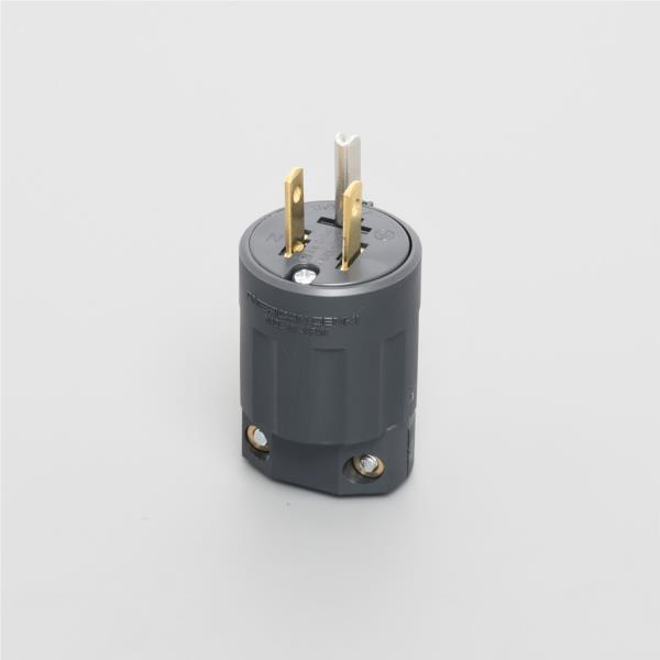 Phích cắm nylon phẳng điện của Hoa Kỳ 2P15A125V 7112GN