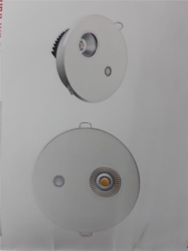 Đèn Led cảm ứng downlight âm trần 5W