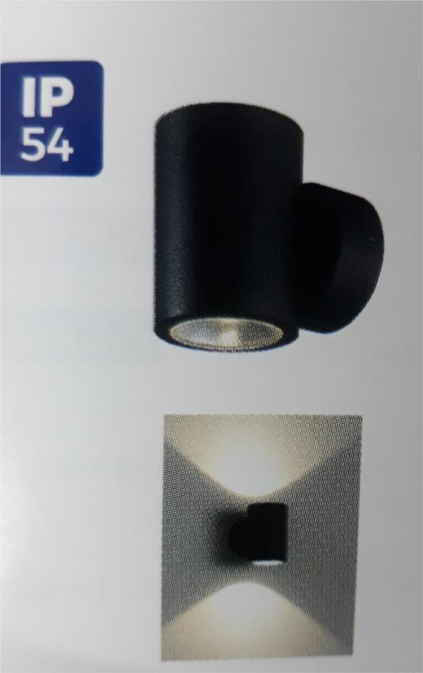Đèn Gắn Tường Trang Trí Ngoài Trời LED NBL2233 Ánh Sáng Vàng