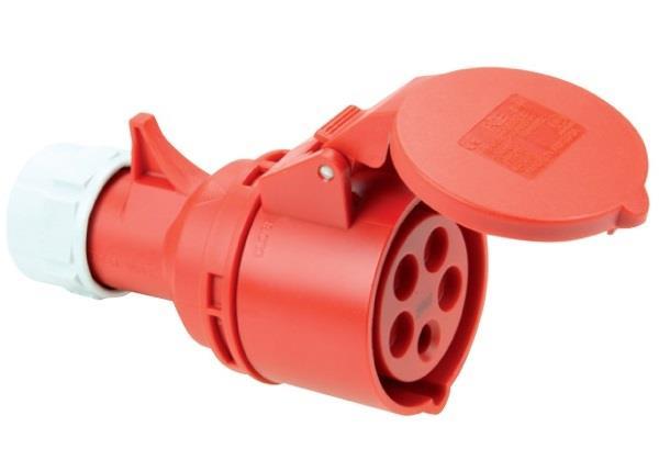 Ổ cắm nối không kín nước PCE F225-6