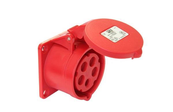 Ổ cắm gắn âm không kín nước dạng thẳng PCE F325-6