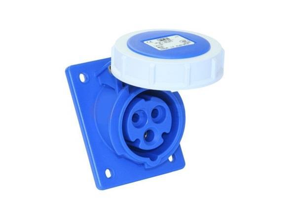 Ổ cắm gắn âm kín nước dạng nghiêng PCE F4132-6F78