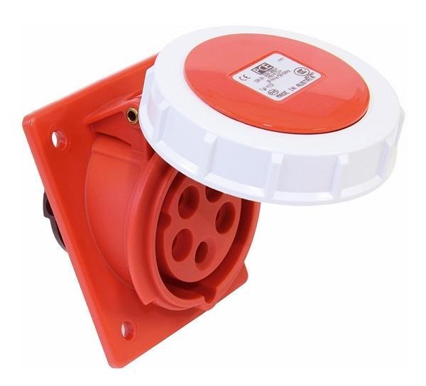 Ổ cắm gắn âm kín nước dạng nghiêng PCE F4152-6F78
