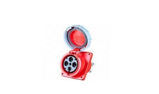 Ổ cắm gắn âm kín nước dạng nghiêng PCE F434-6FC