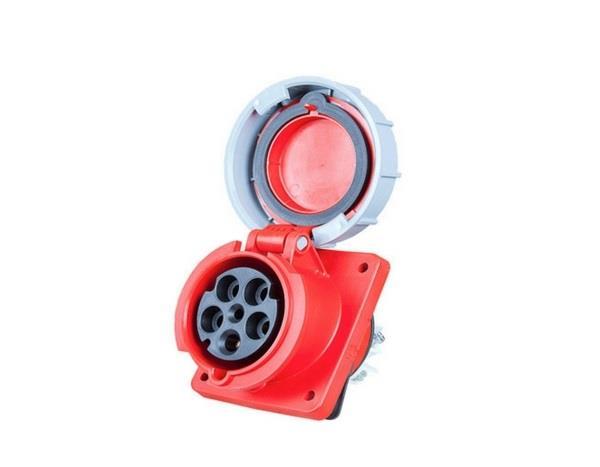Ổ cắm gắn âm kín nước dạng nghiêng PCE F435-6FC